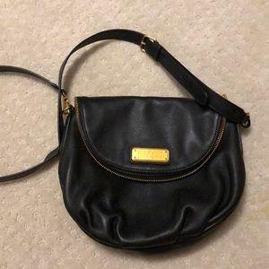 Marc Jacobs Black leather crossbody bag